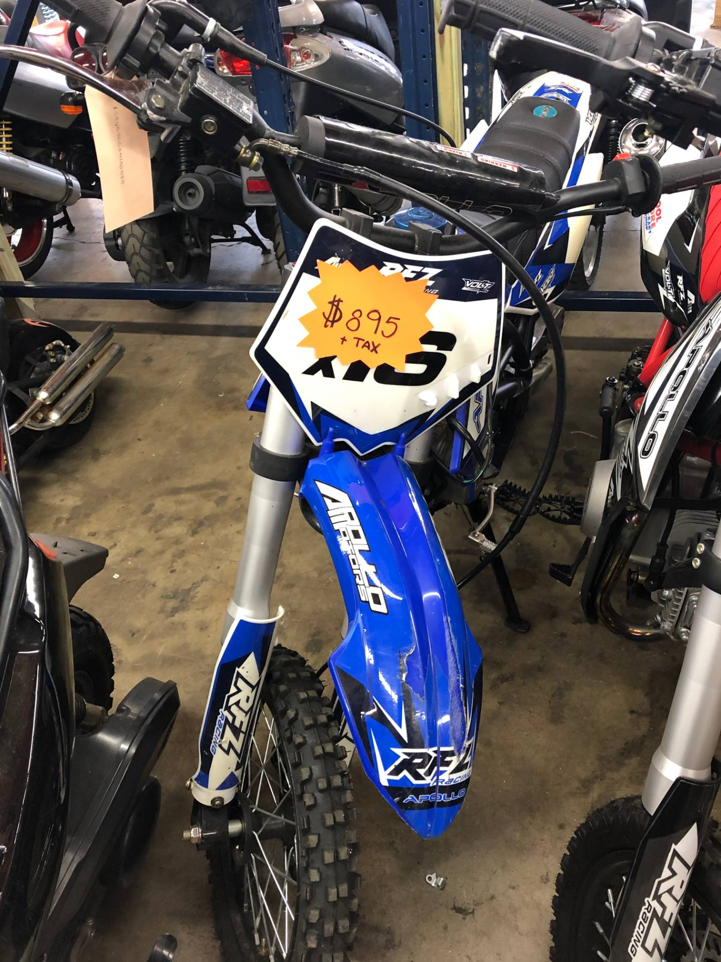 2019 Apollo 125cc in Forest View, Illinois