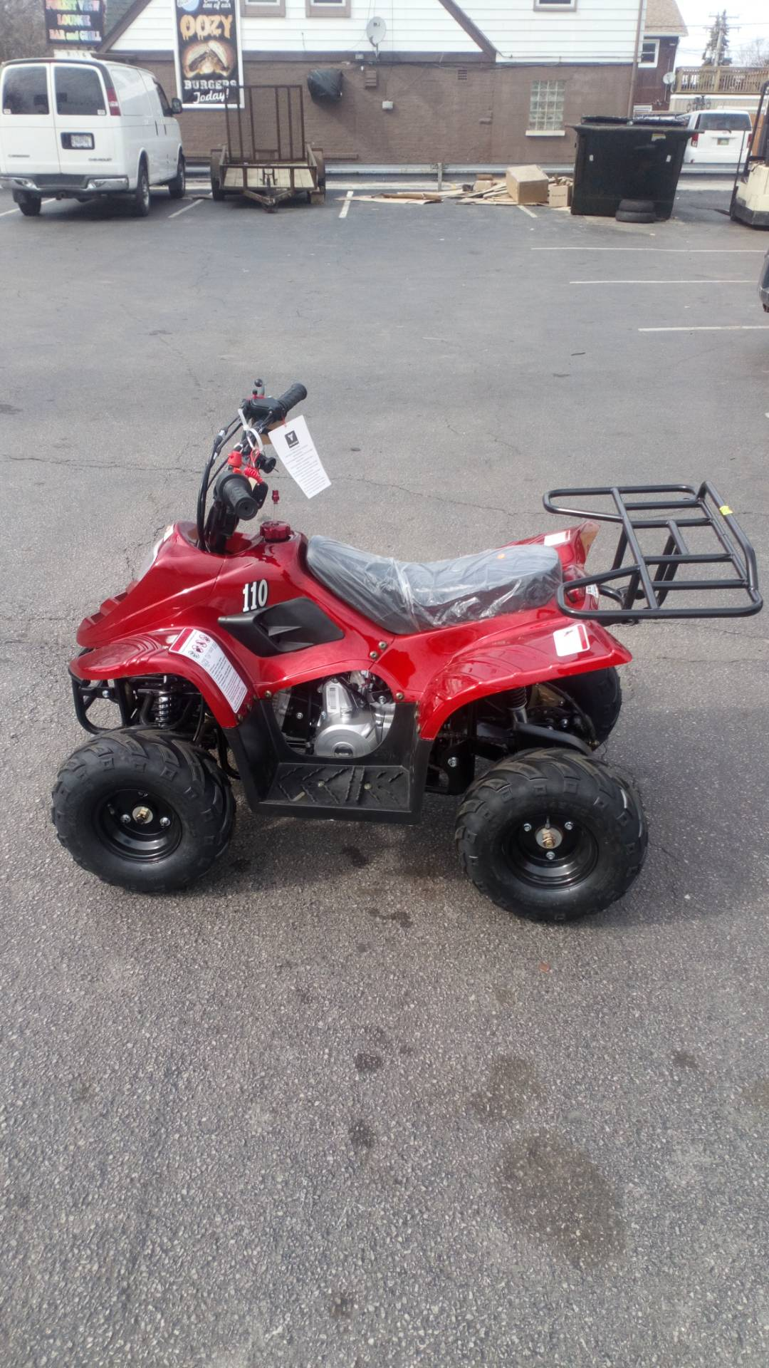 2018 Taotao USA ATV 110cc in Forest View, Illinois - Photo 2