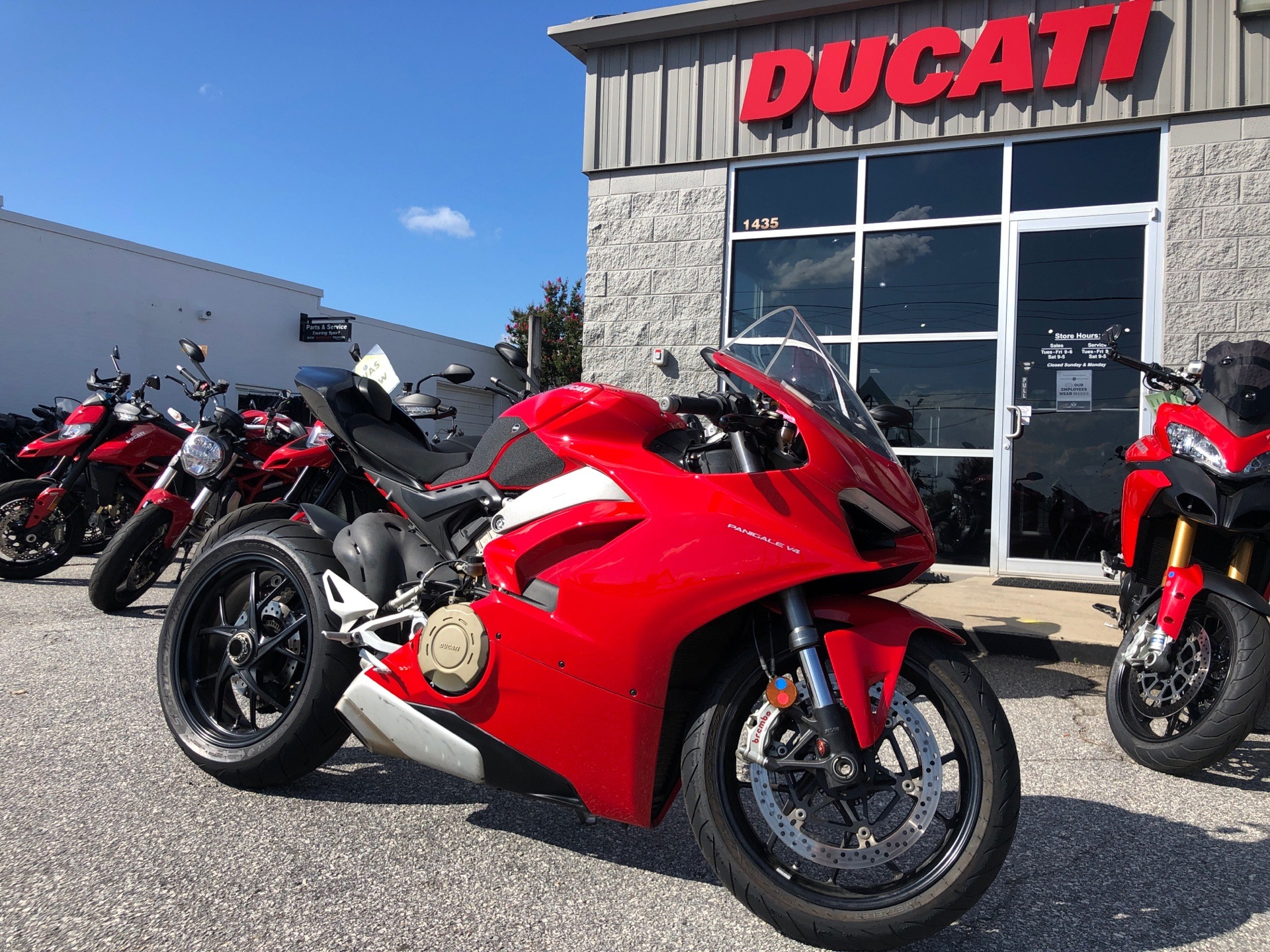2018 Ducati Panigale V4 in Greenville, South Carolina - Photo 1
