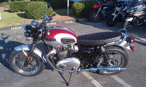 2017 Triumph Bonneville T120 in Greenville, South Carolina