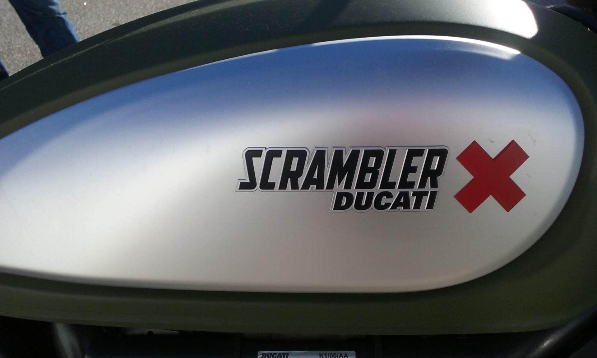 2015 Ducati Scrambler Urban Enduro in Greenville, South Carolina