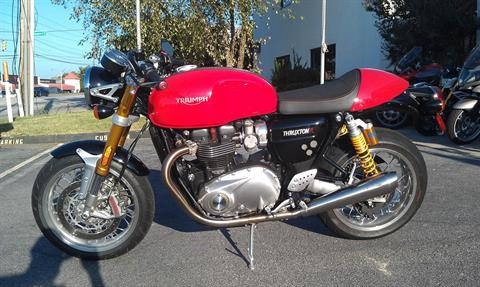 2016 Triumph Thruxton 1200 R in Greenville, South Carolina