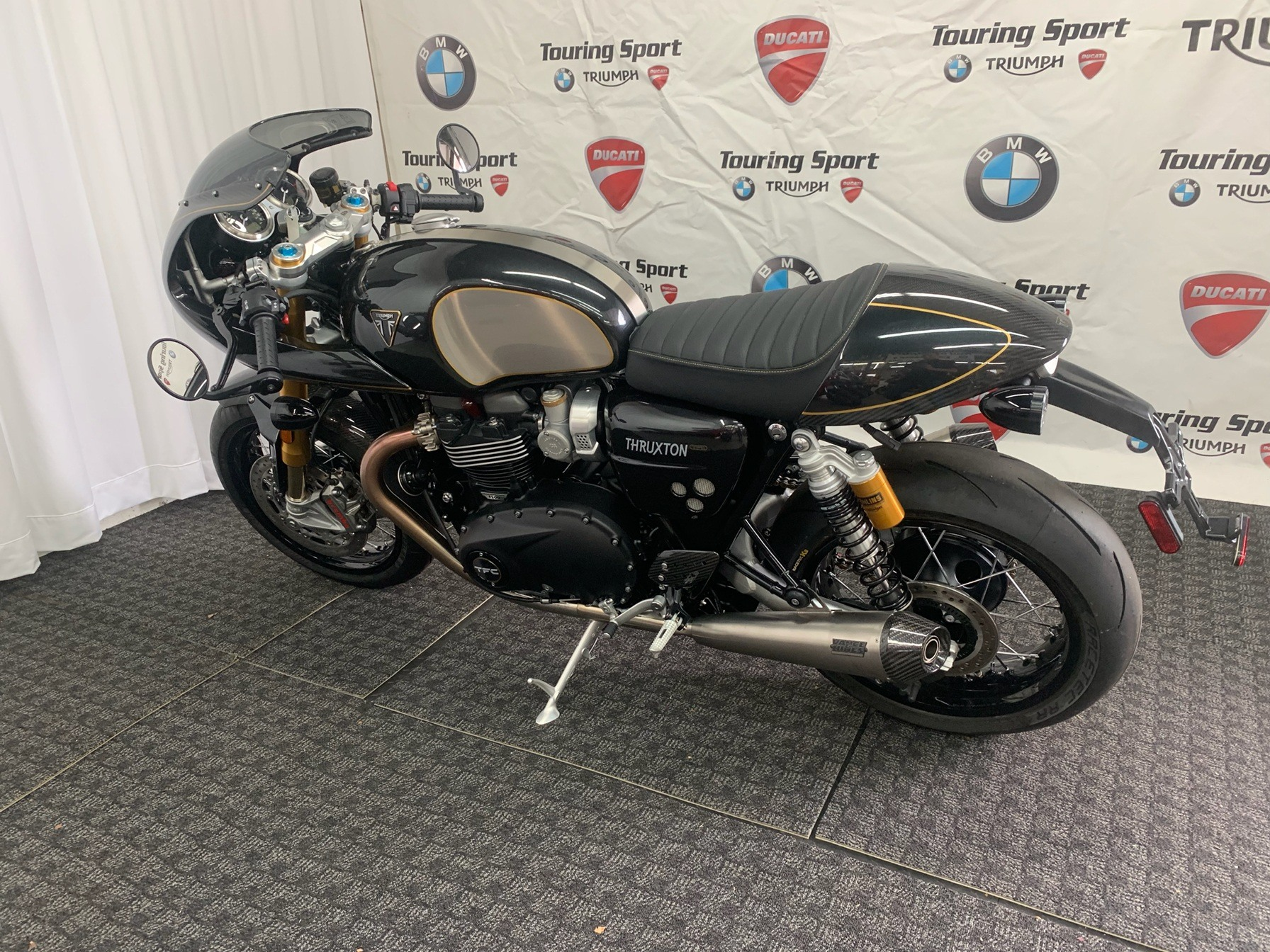 2020 Triumph thruxton tfc in Greenville, South Carolina - Photo 2