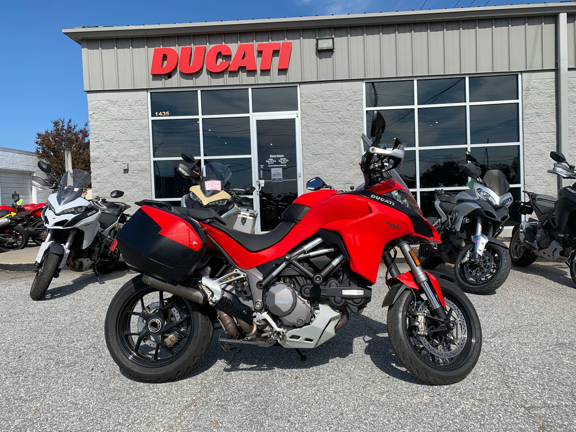 2019 Ducati Multistrada 1260 S Touring in Greenville, South Carolina - Photo 1