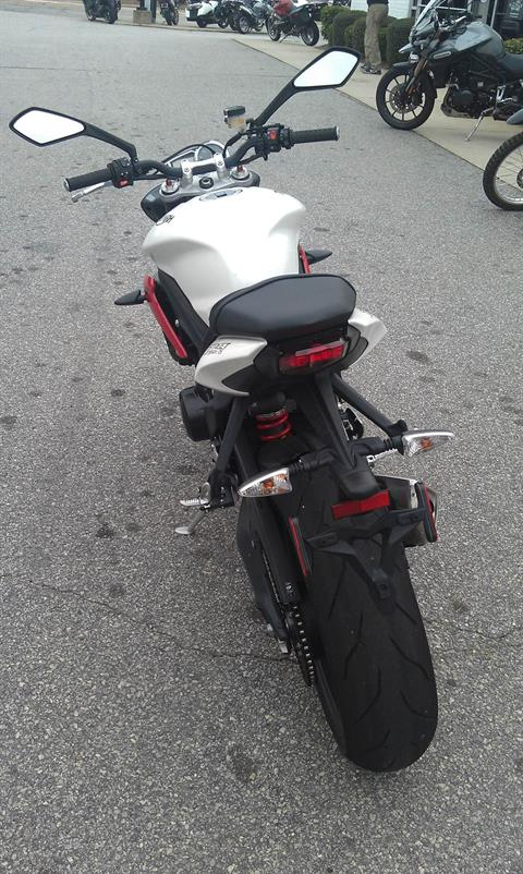 2016 Triumph Street Triple R ABS in Greenville, South Carolina