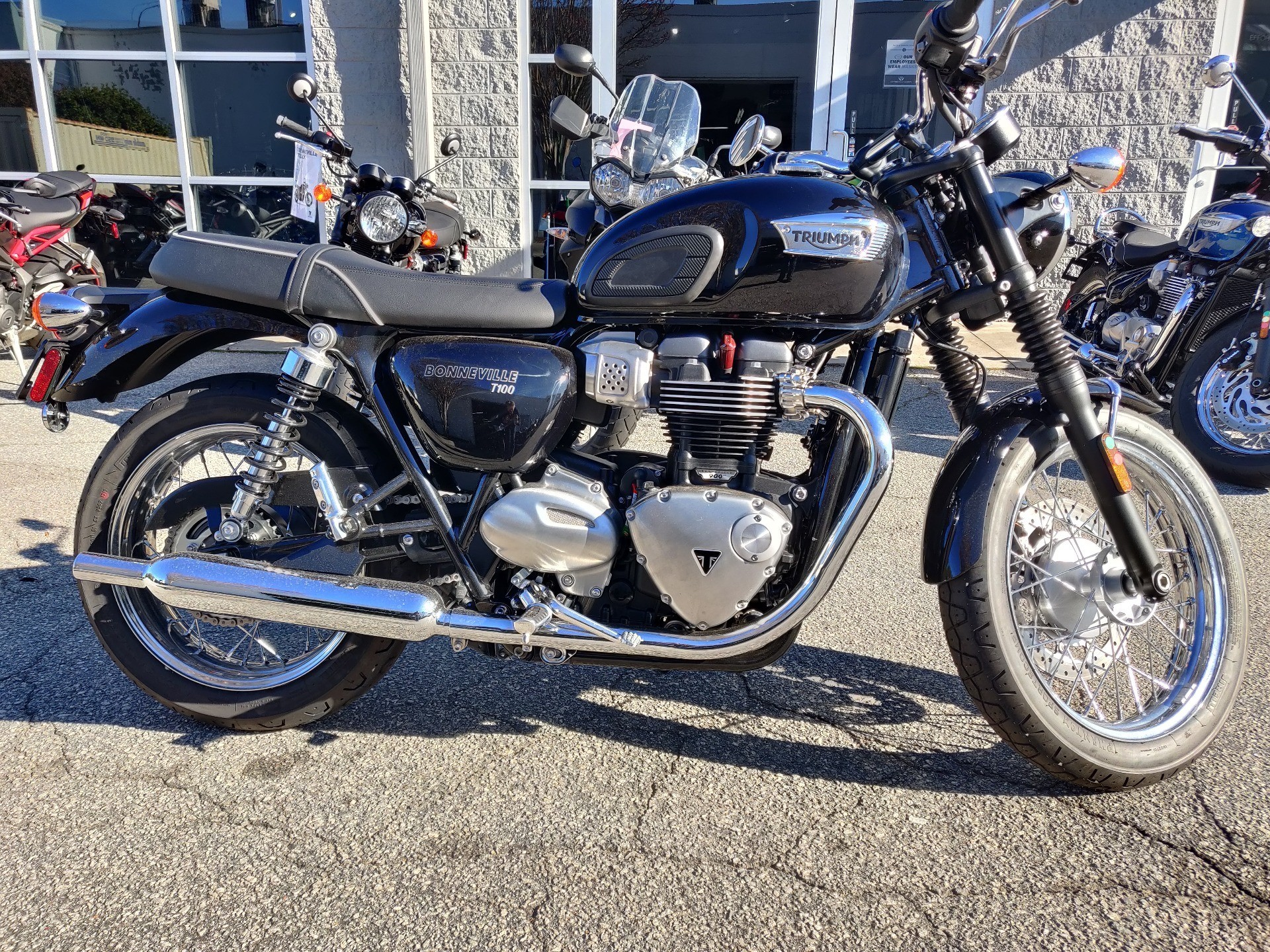 2020 Triumph Bonneville T100 in Greenville, South Carolina - Photo 4