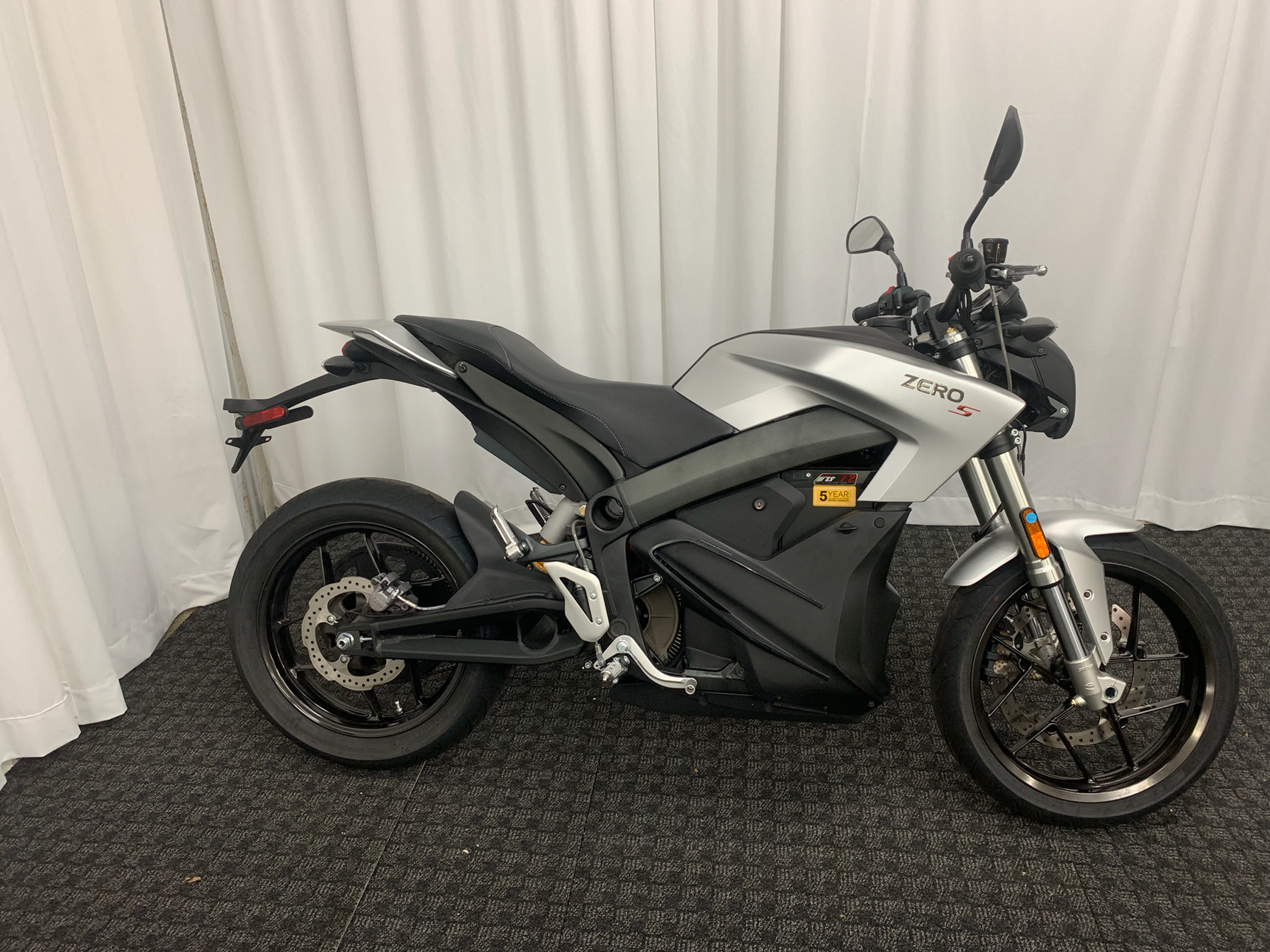 2018 Zero Motorcycles S ZF7.2 in Greenville, South Carolina - Photo 2