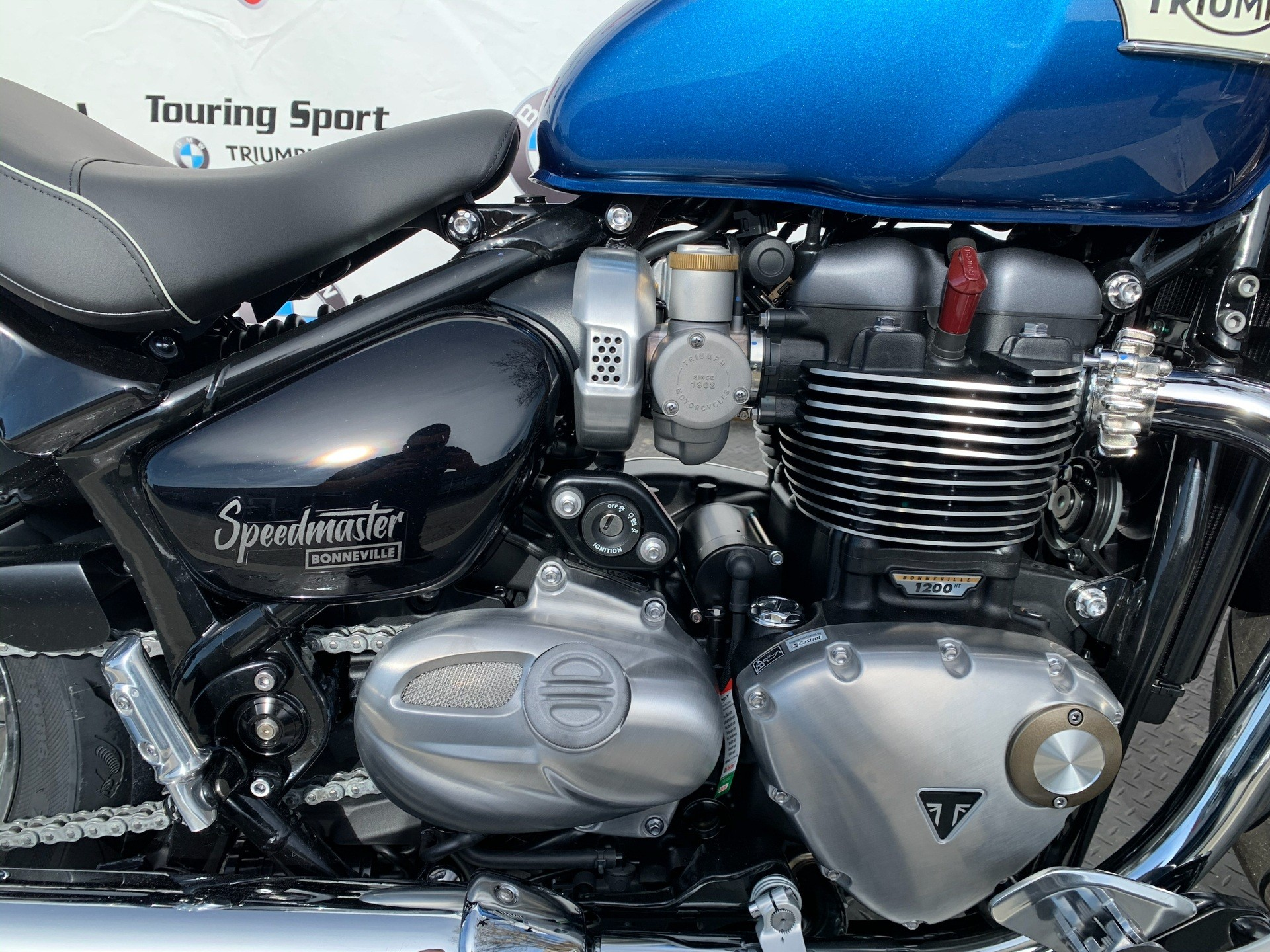 2020 Triumph Bonneville Speedmaster in Greenville, South Carolina - Photo 6