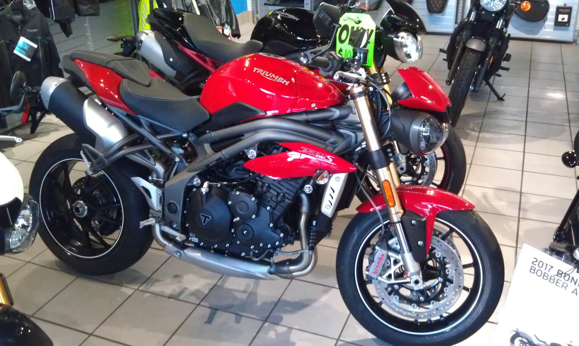 2016 Triumph Speed Triple S ABS in Greenville, South Carolina