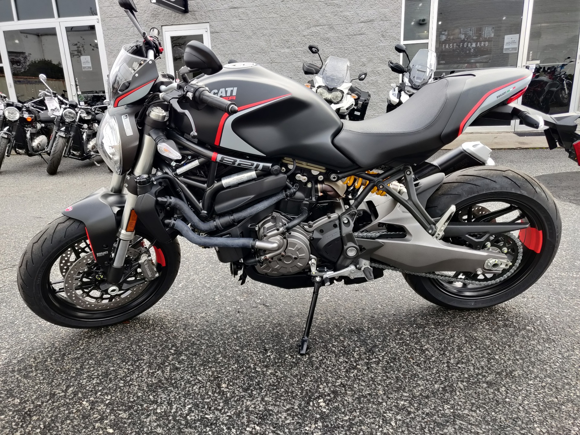 2021 Ducati Monster 821 Stealth in Greenville, South Carolina - Photo 8