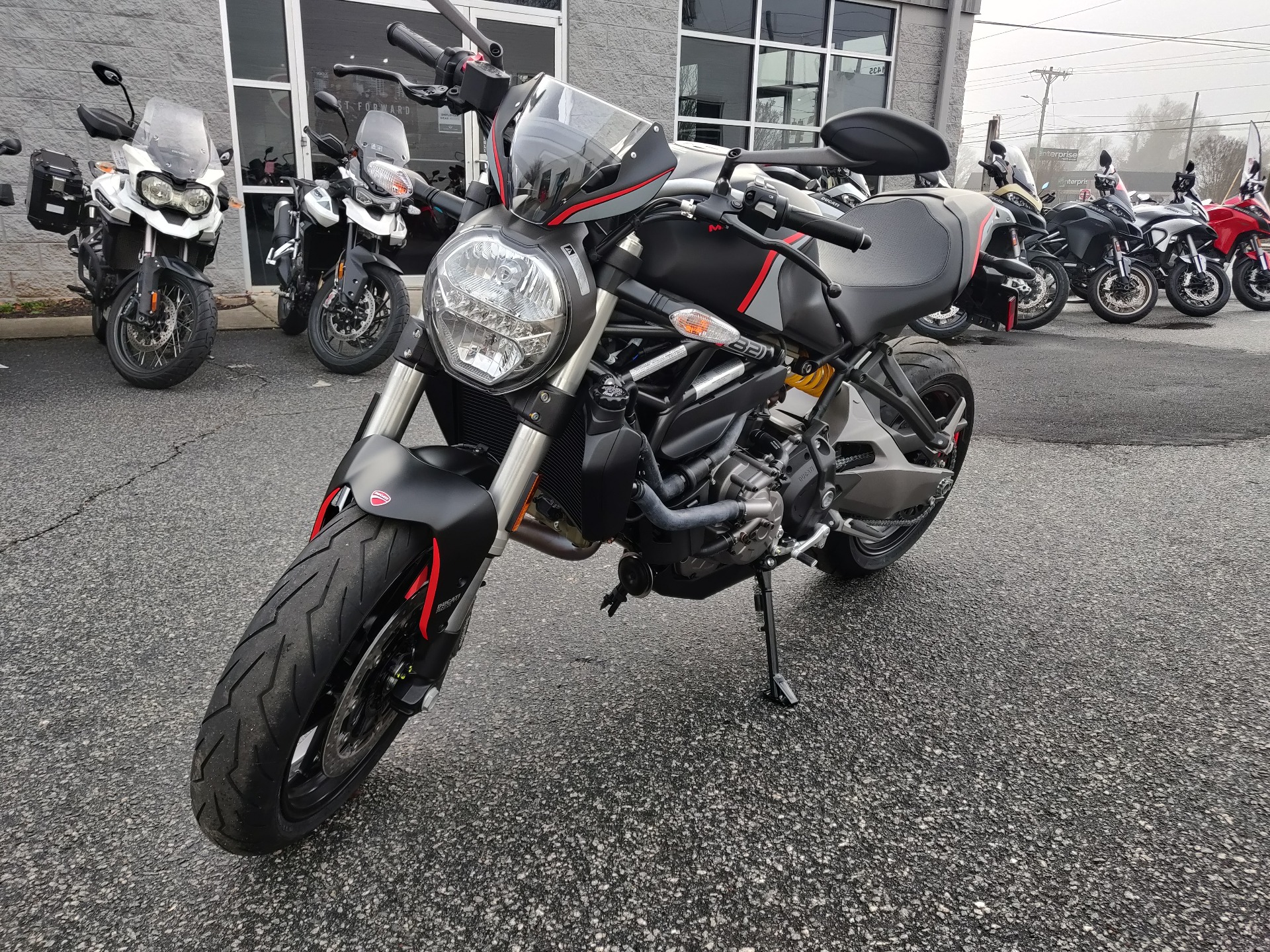 2021 Ducati Monster 821 Stealth in Greenville, South Carolina - Photo 1