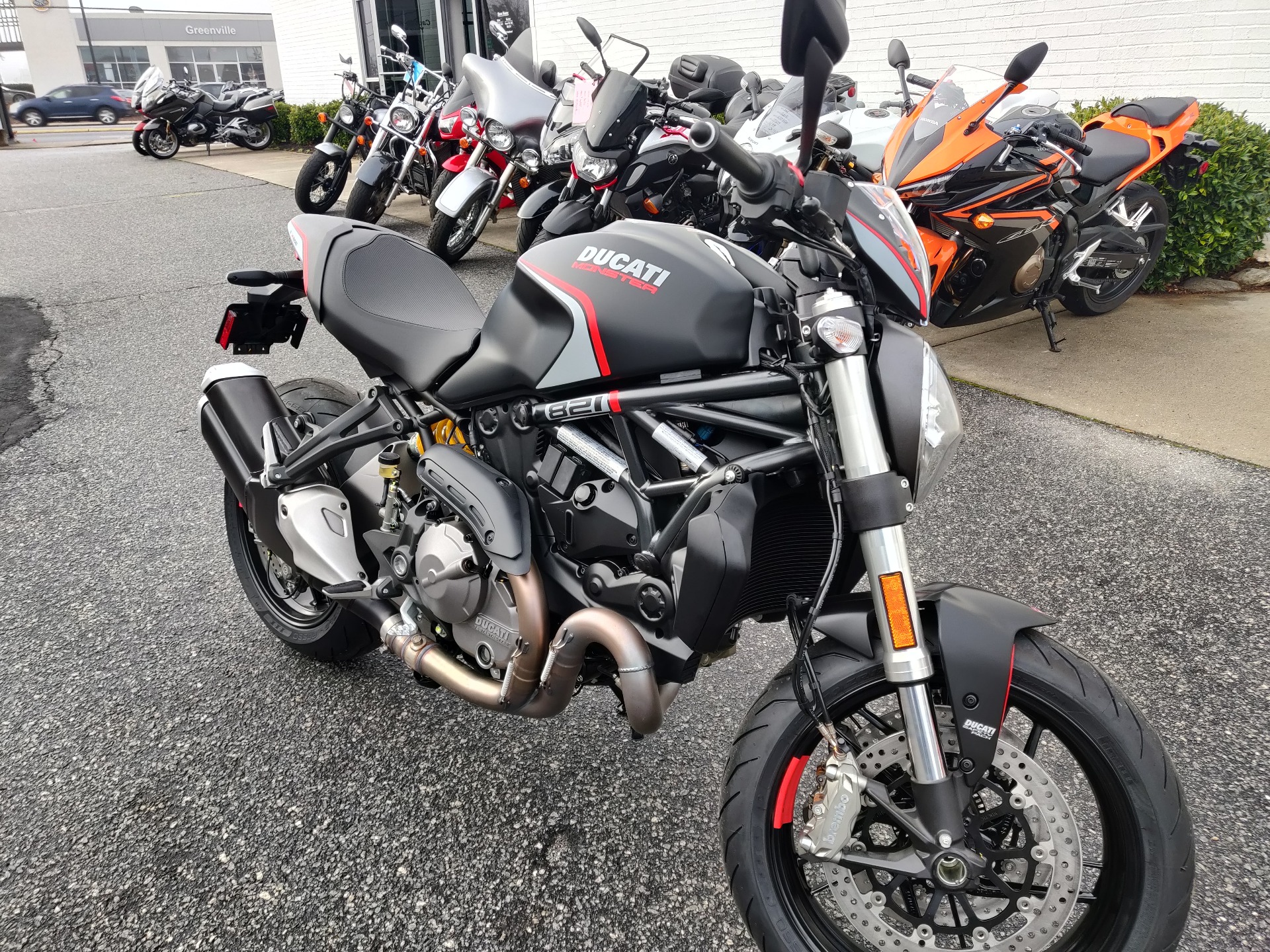2021 Ducati Monster 821 Stealth in Greenville, South Carolina - Photo 3