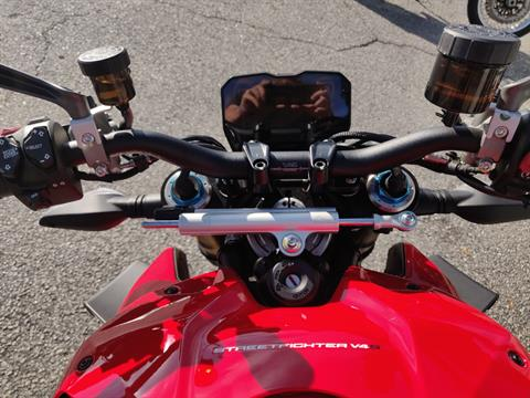 2021 Ducati Streetfighter V4 S in Greenville, South Carolina - Photo 13