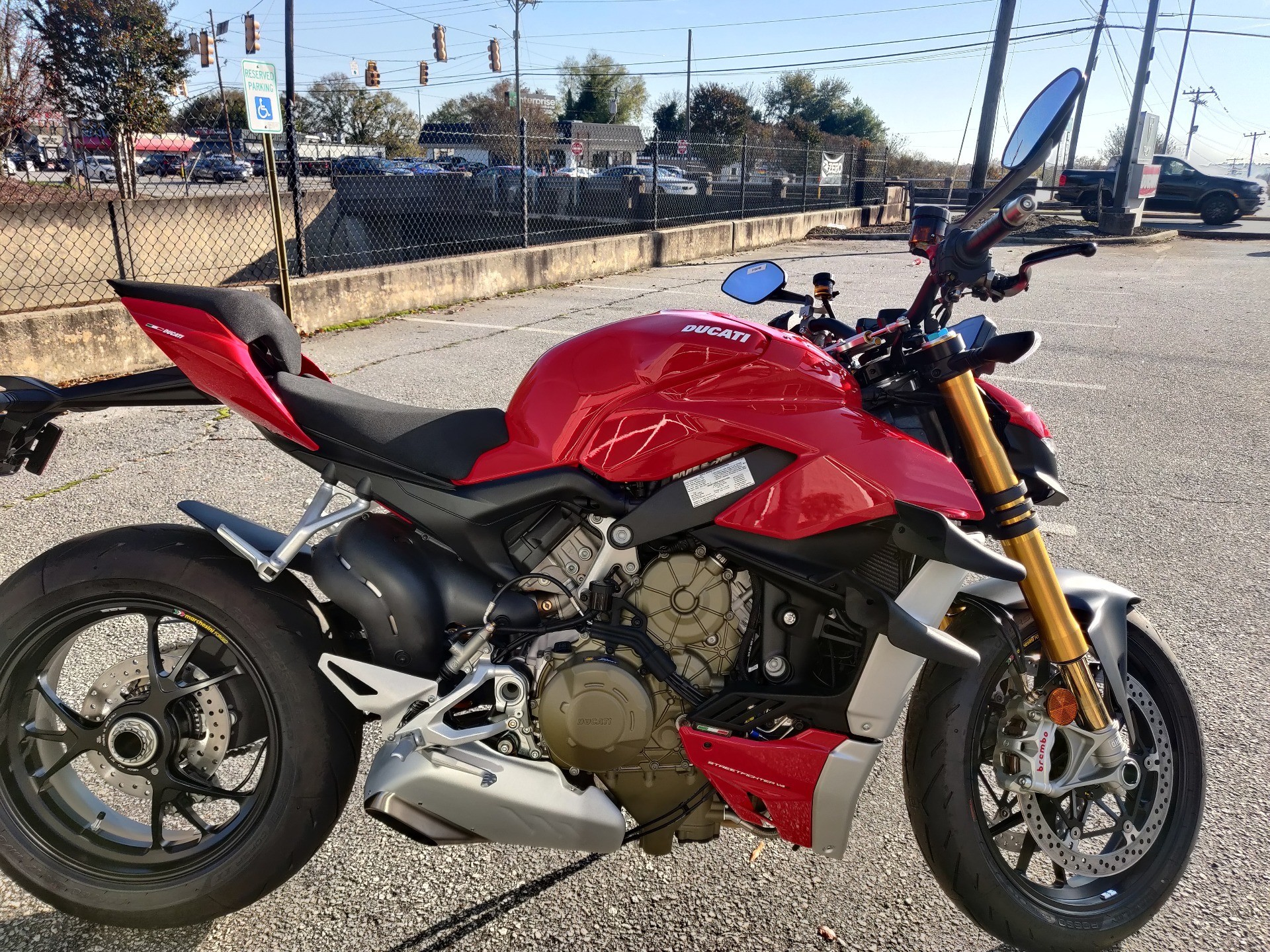 2021 Ducati Streetfighter V4 S in Greenville, South Carolina - Photo 4