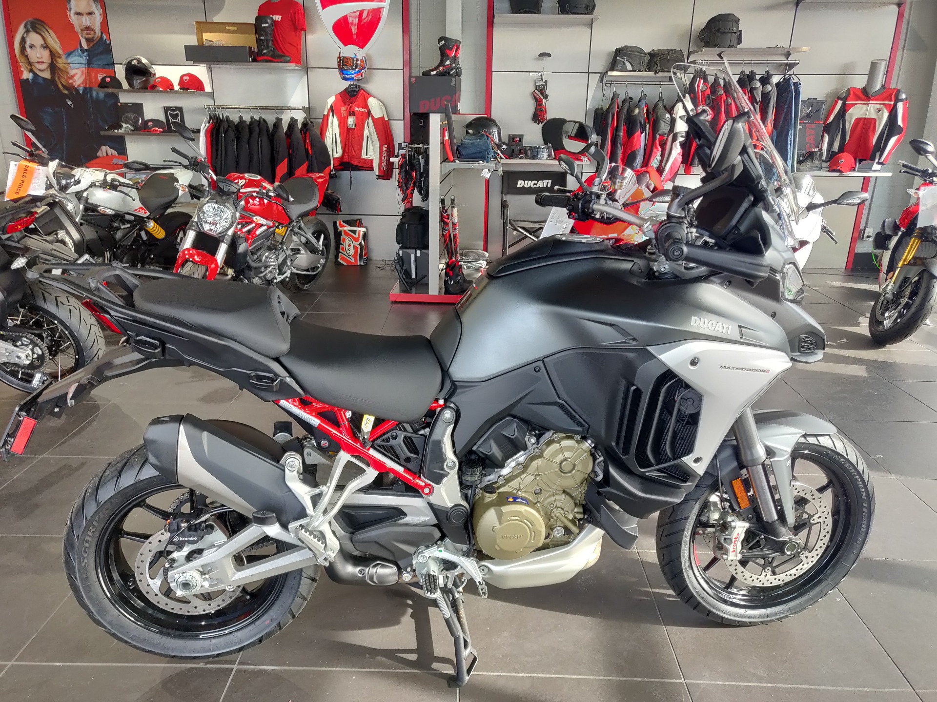 2021 Ducati Multistrada V4S in Greenville, South Carolina - Photo 4