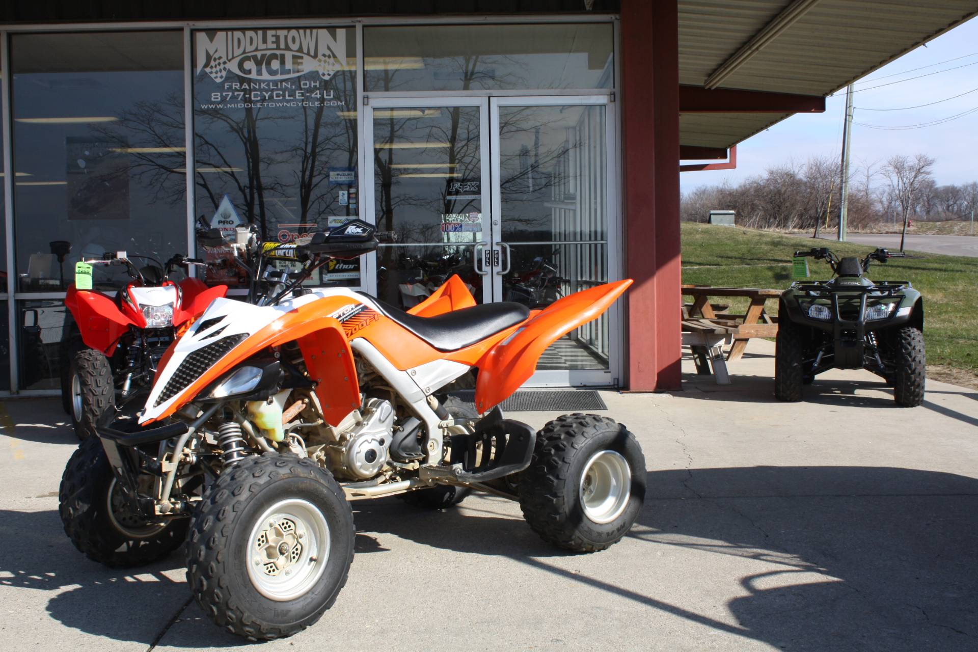 2014 Yamaha RAPTOR 700 in Franklin, Ohio