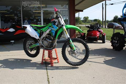 2015 Kawasaki KX250F in Franklin, Ohio