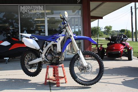 2013 Yamaha YZ250F in Franklin, Ohio