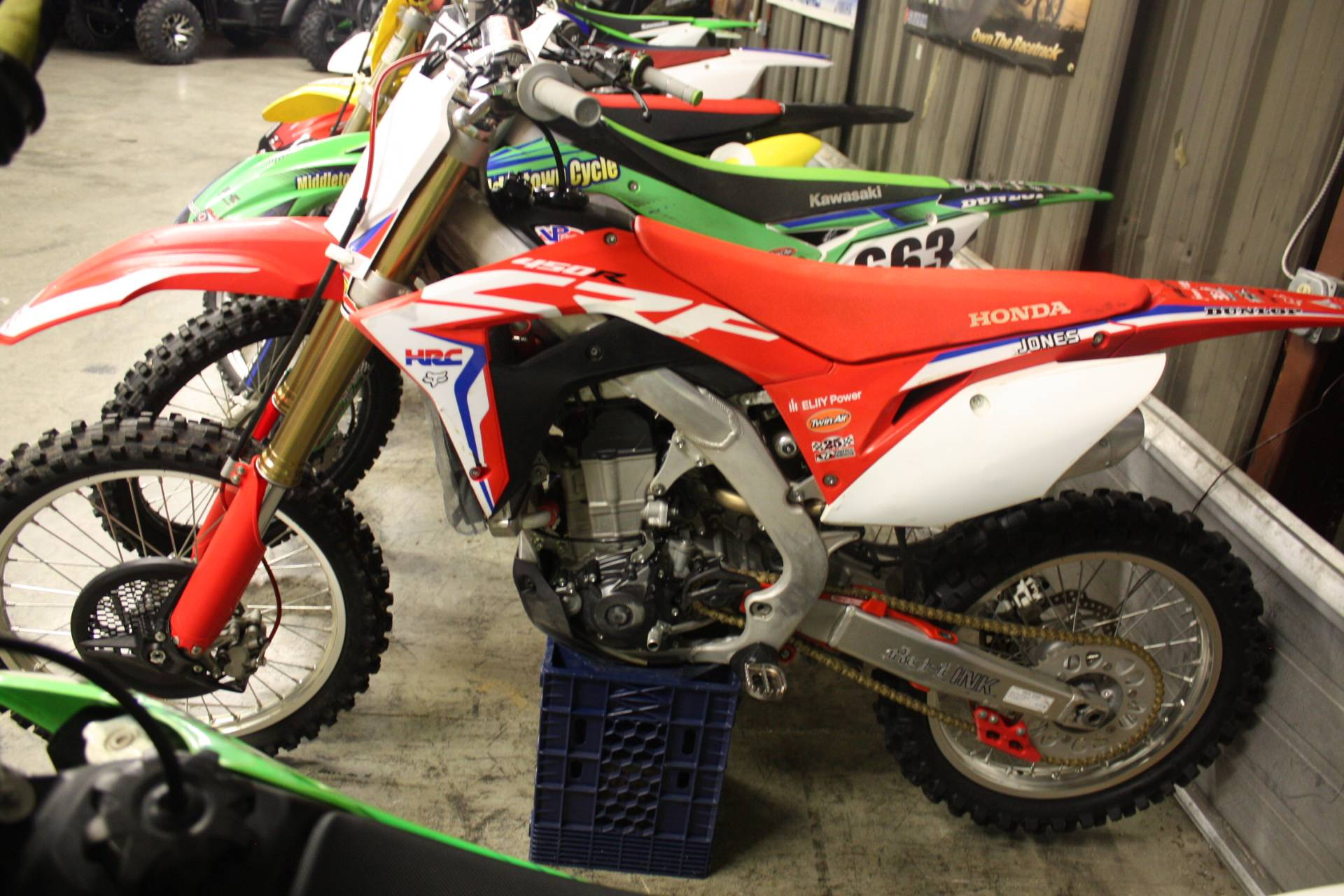2017 Honda CRF450R in Franklin, Ohio