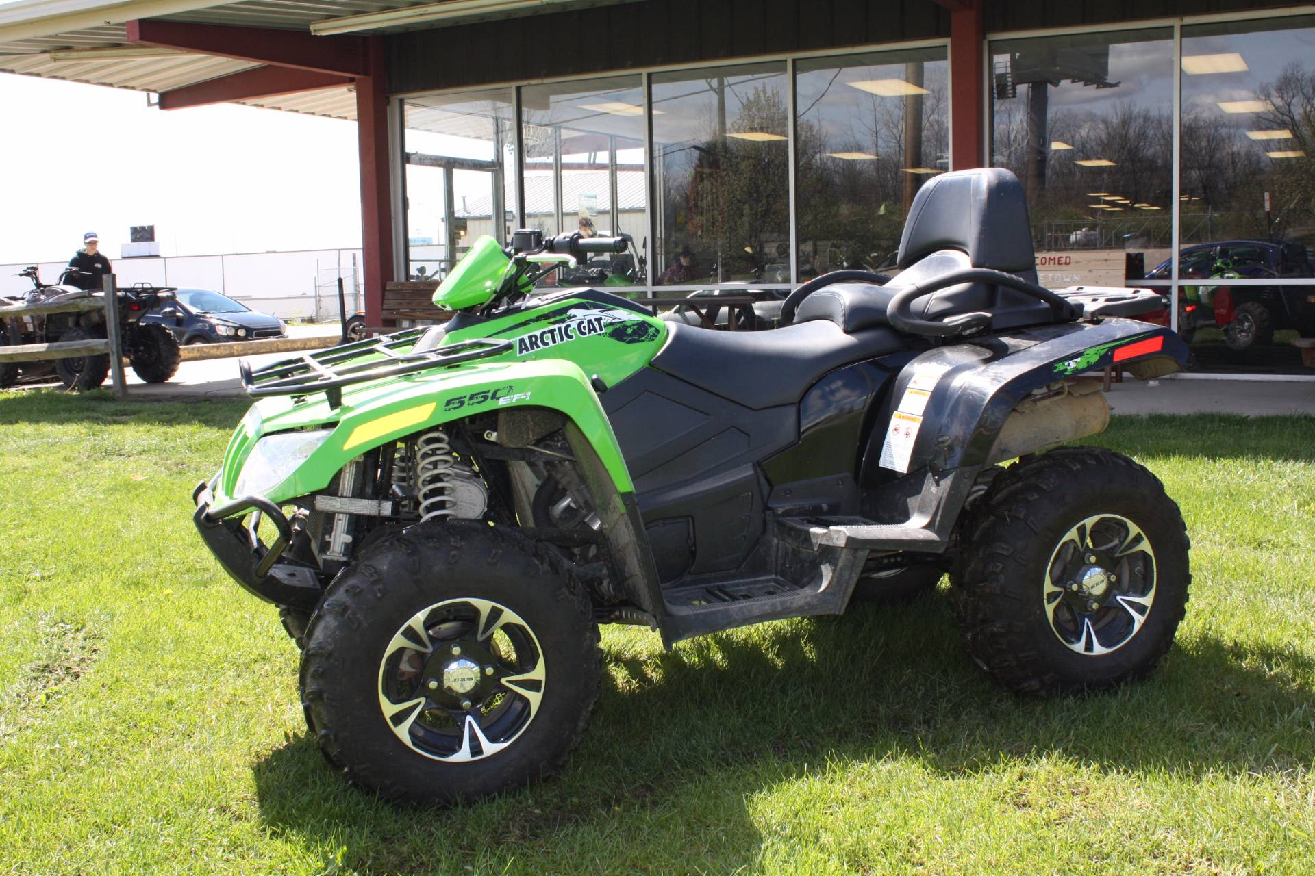 2015 Arctic Cat TRV 550 XT EPS in Franklin, Ohio