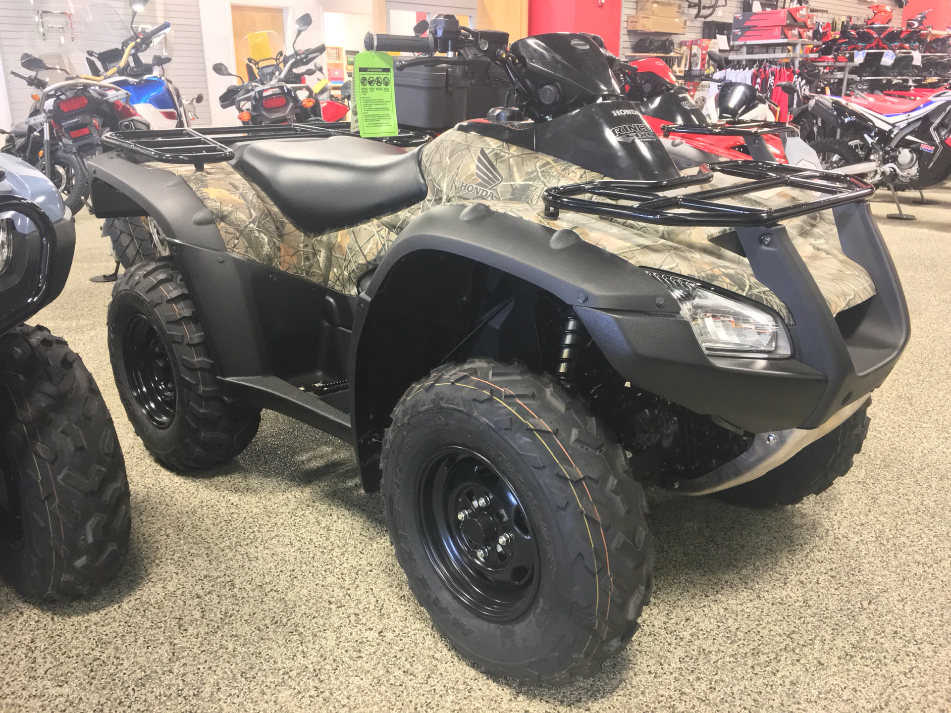 2019 Honda FourTrax Rincon in Olive Branch, Mississippi - Photo 1