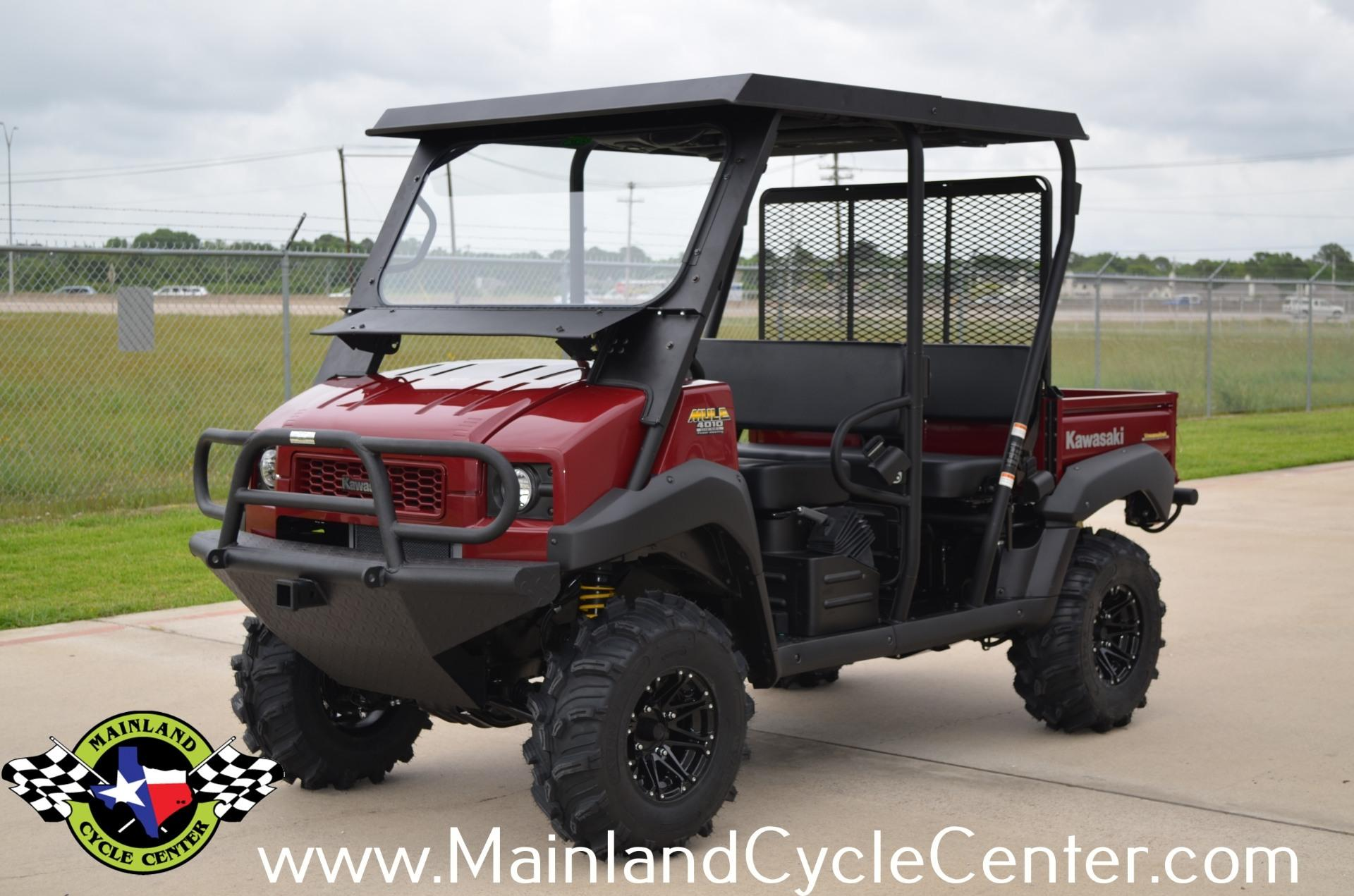 What Are Kawasaki Mule