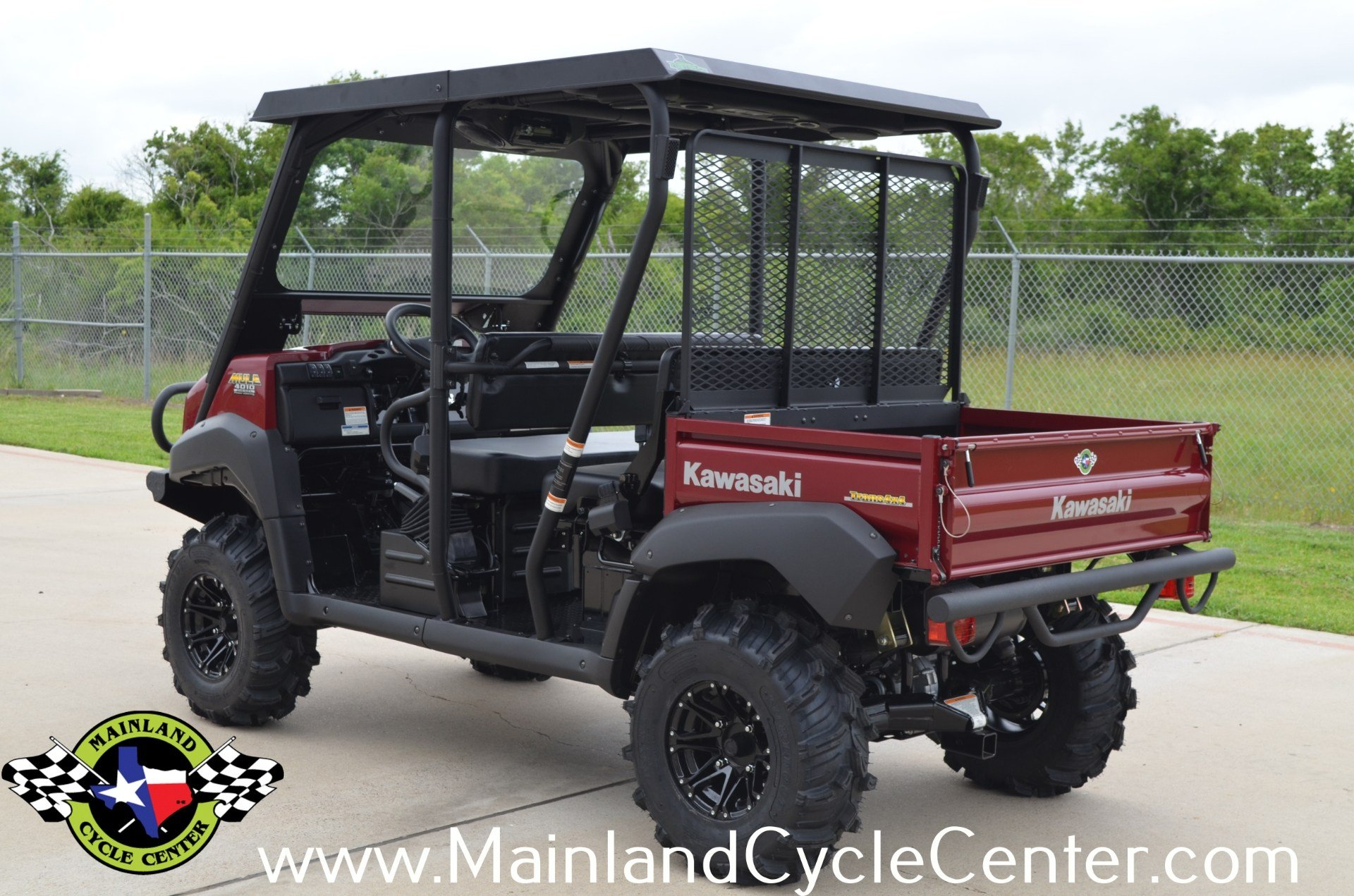 2013 Kawasaki Mule™ 4010 Trans4x4® Diesel in La Marque, Texas - Photo 4