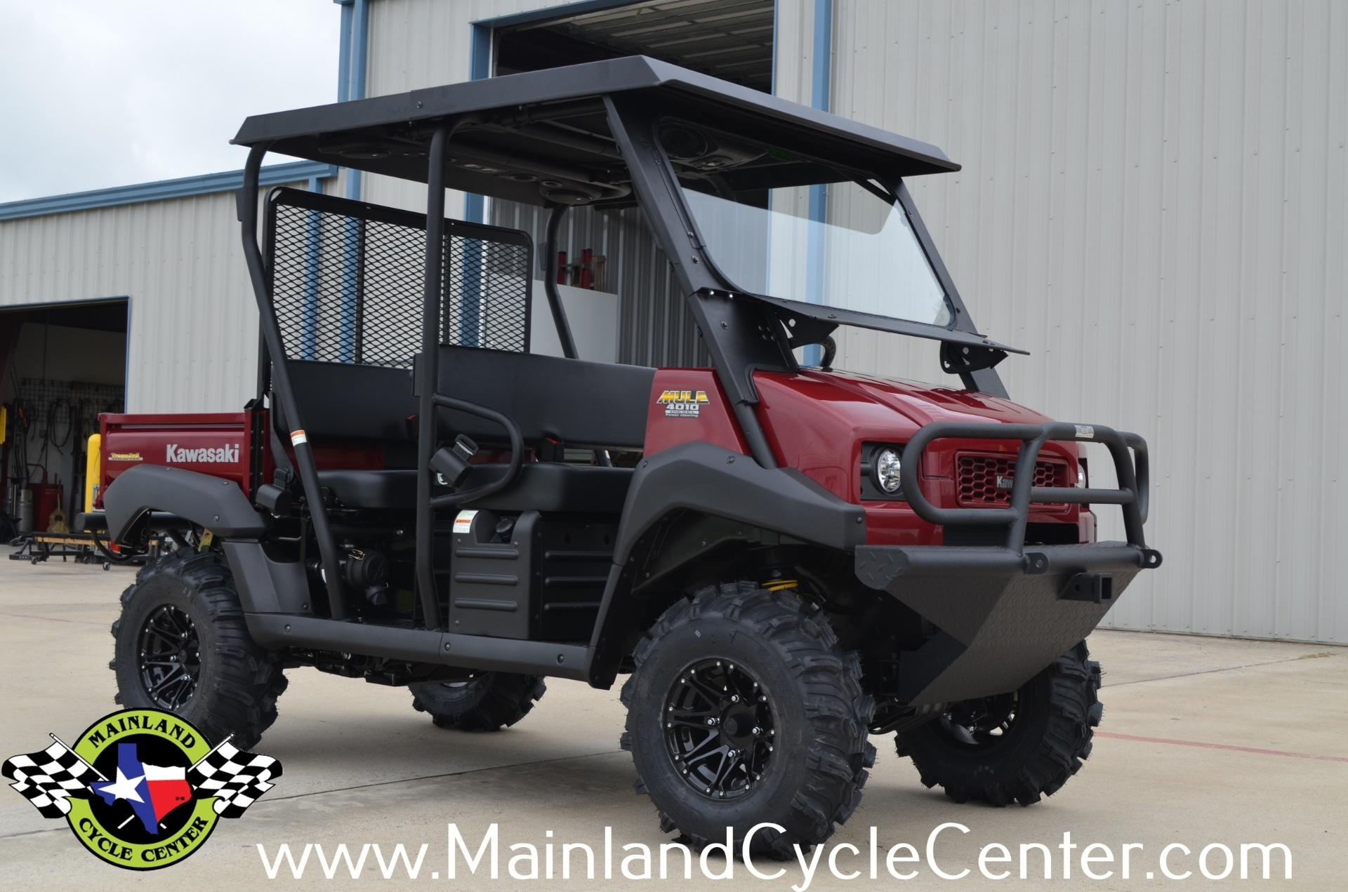 2013 Kawasaki Mule™ 4010 Trans4x4® Diesel in La Marque, Texas - Photo 6