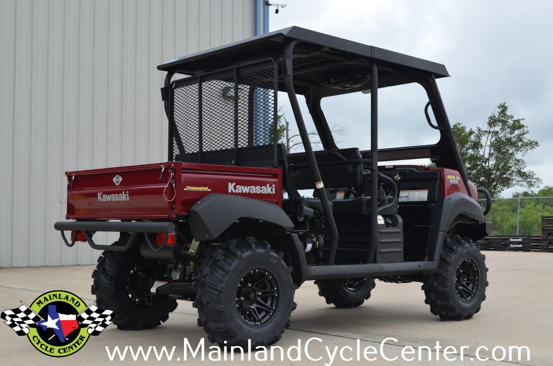 2013 Kawasaki Mule™ 4010 Trans4x4® Diesel in La Marque, Texas - Photo 7