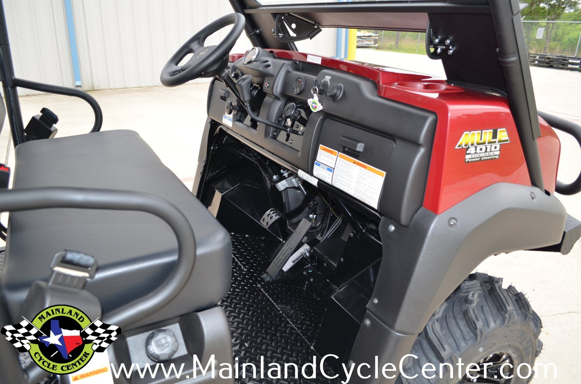 2013 Kawasaki Mule™ 4010 Trans4x4® Diesel in La Marque, Texas - Photo 18