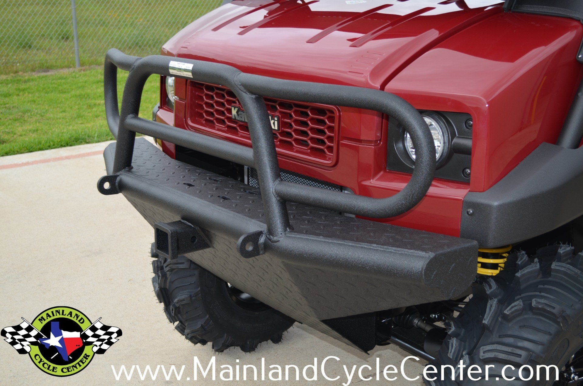 New 2013 Kawasaki Mule™ 4010 Trans4x4® Diesel Dark Royal Red