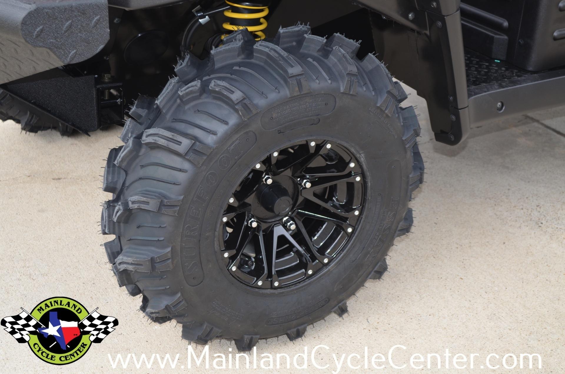 New 2013 Kawasaki Mule™ 4010 Trans4x4® Diesel Dark Royal Red