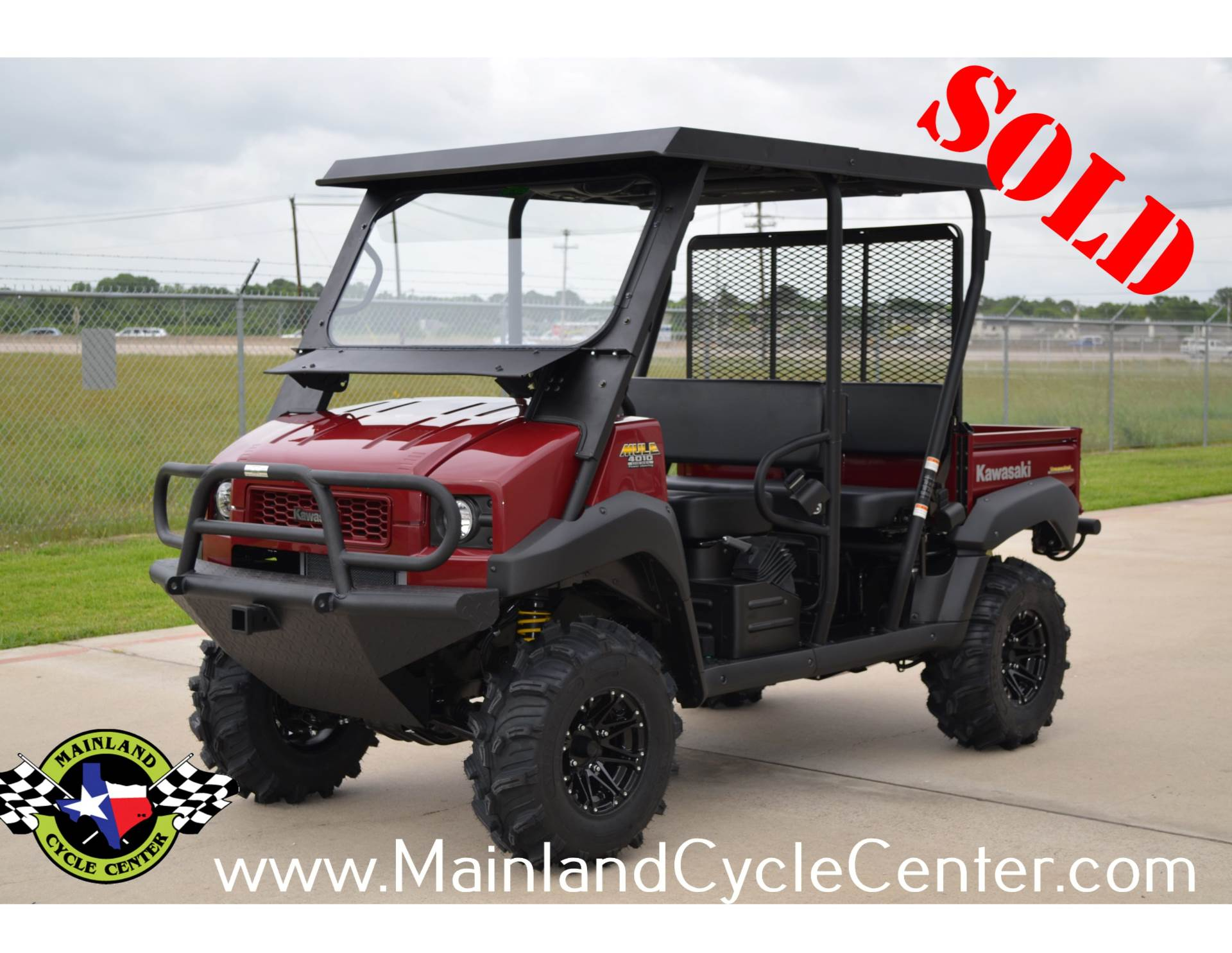 2013 Kawasaki Mule™ 4010 Trans4x4® Diesel in La Marque, Texas - Photo 1