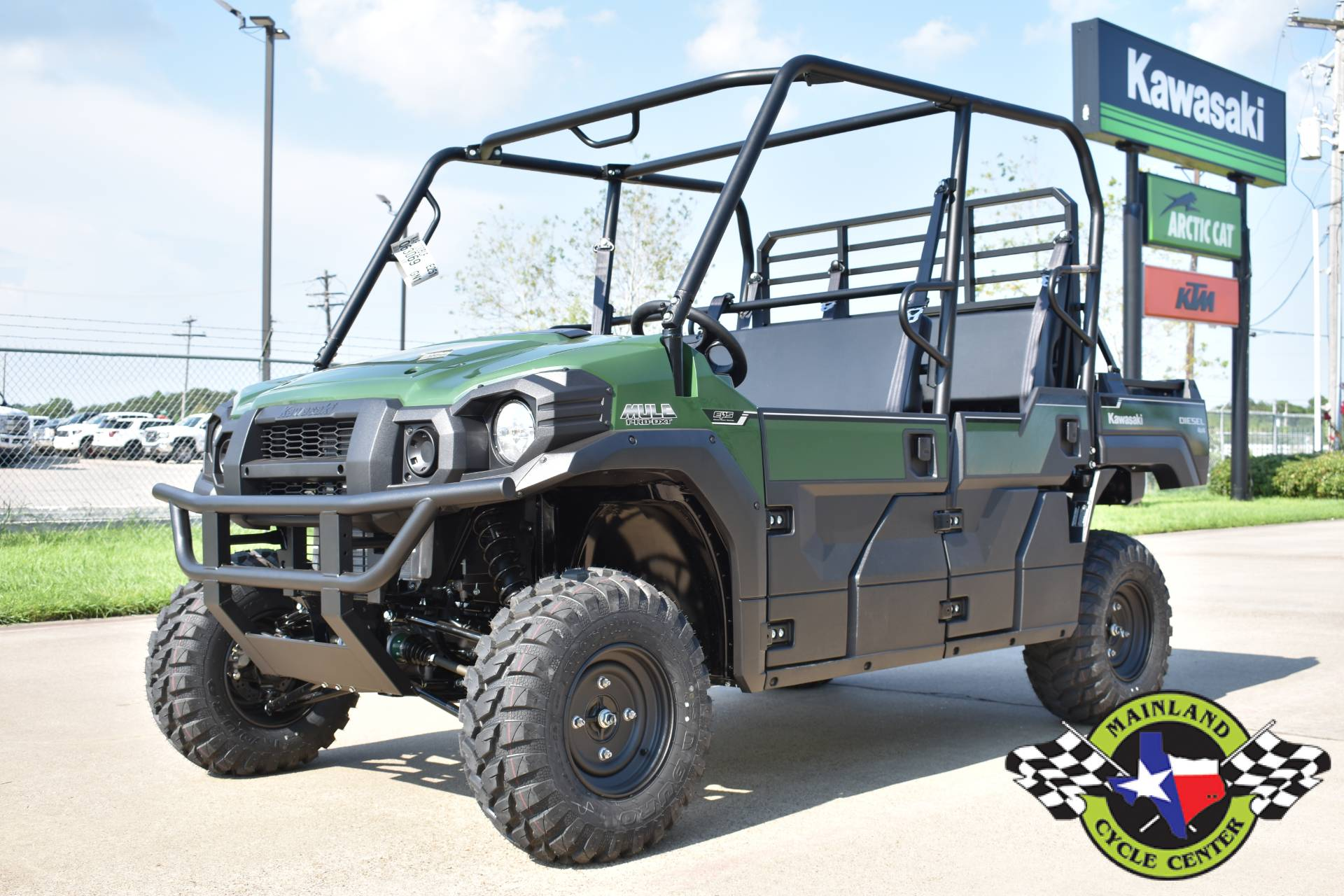 2020 Kawasaki Mule PRO-DXT EPS Diesel in La Marque, Texas - Photo 5