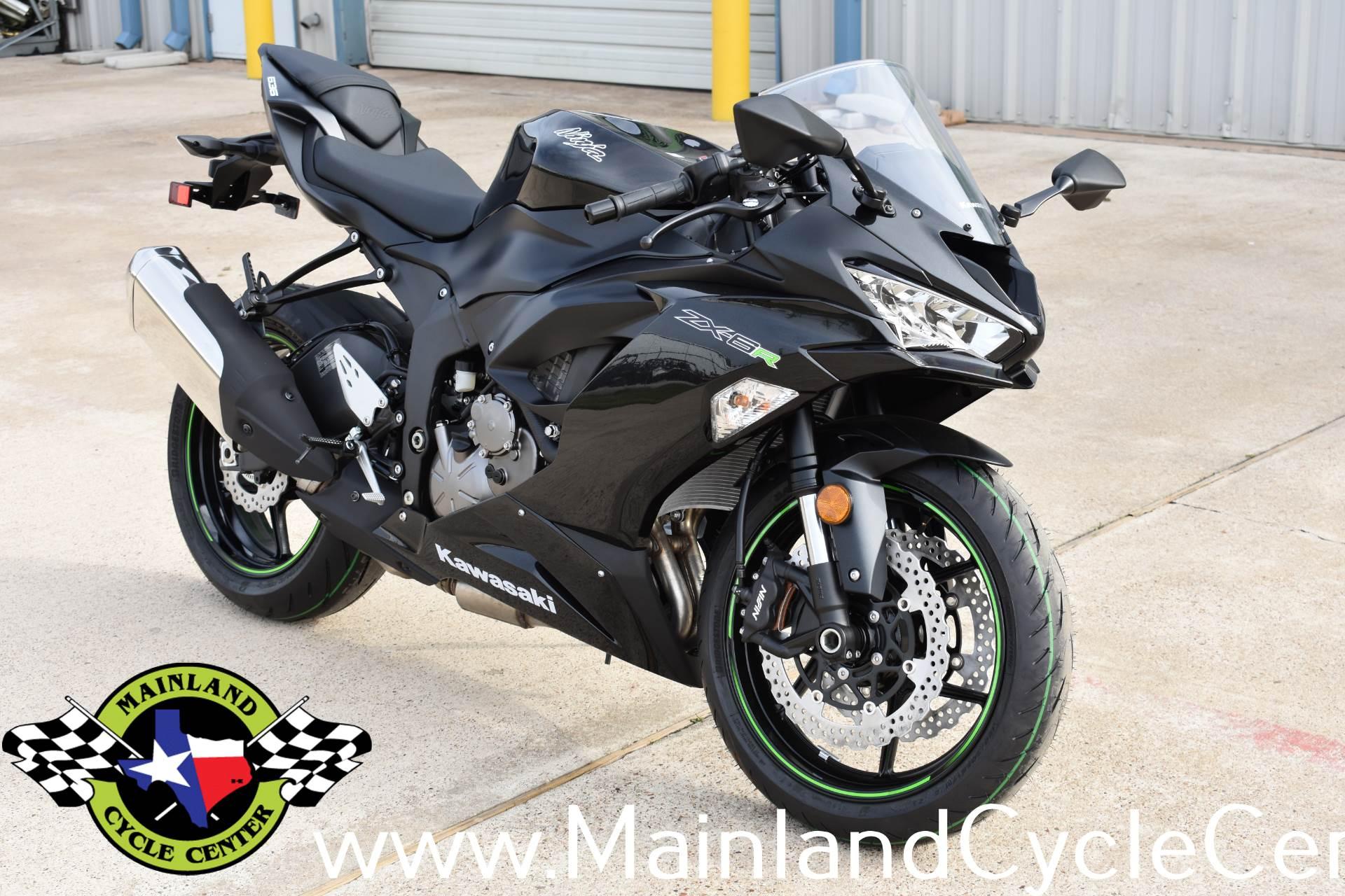 2019 Kawasaki Ninja Zx 6r In La Marque Texas