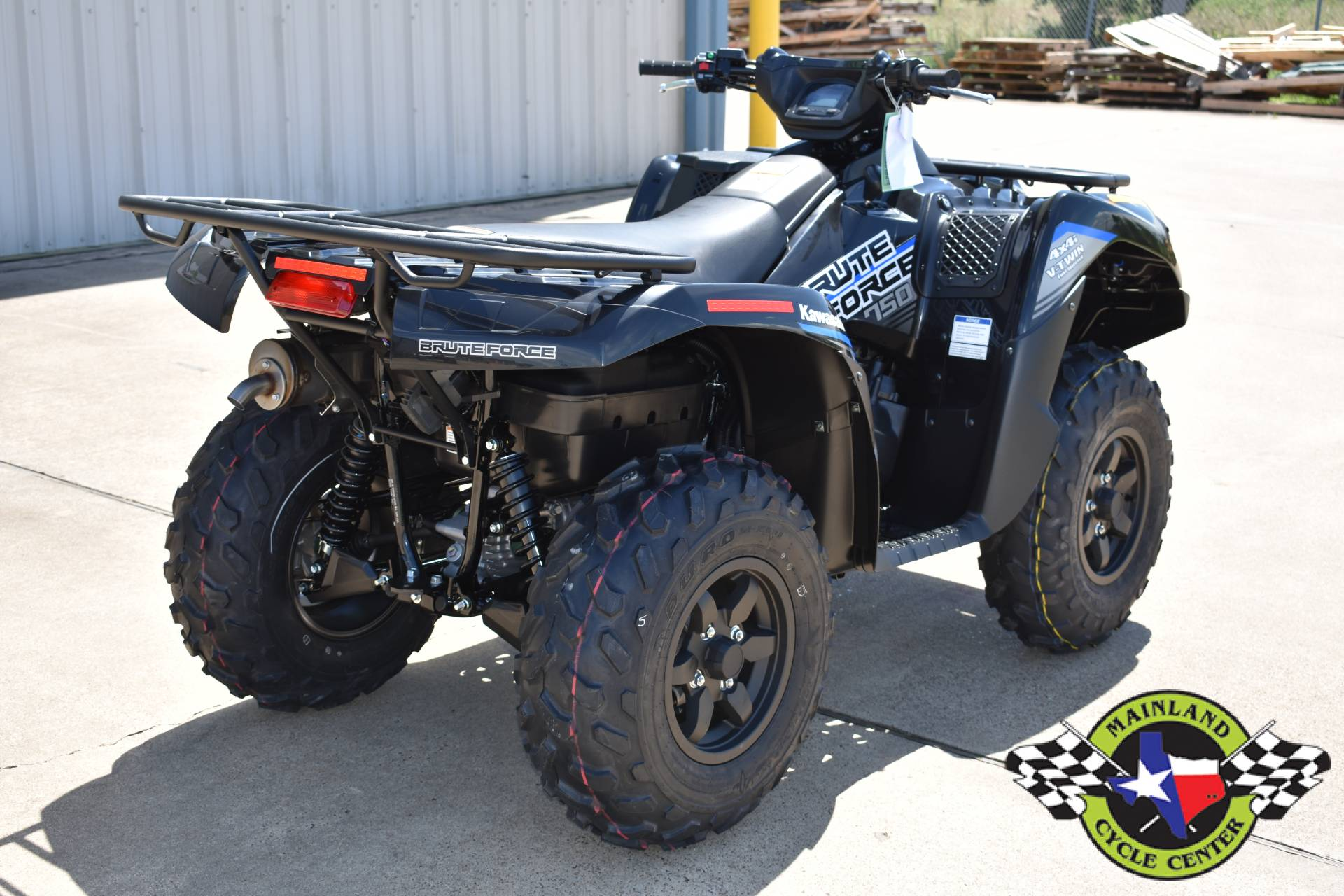 2021 Kawasaki Brute Force 750 4x4i EPS in La Marque, Texas - Photo 3