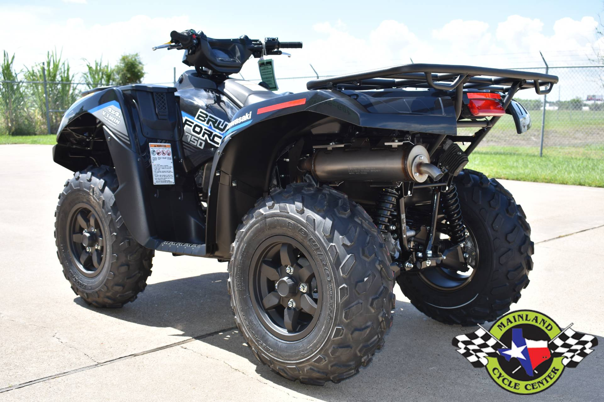 2021 Kawasaki Brute Force 750 4x4i EPS in La Marque, Texas - Photo 6