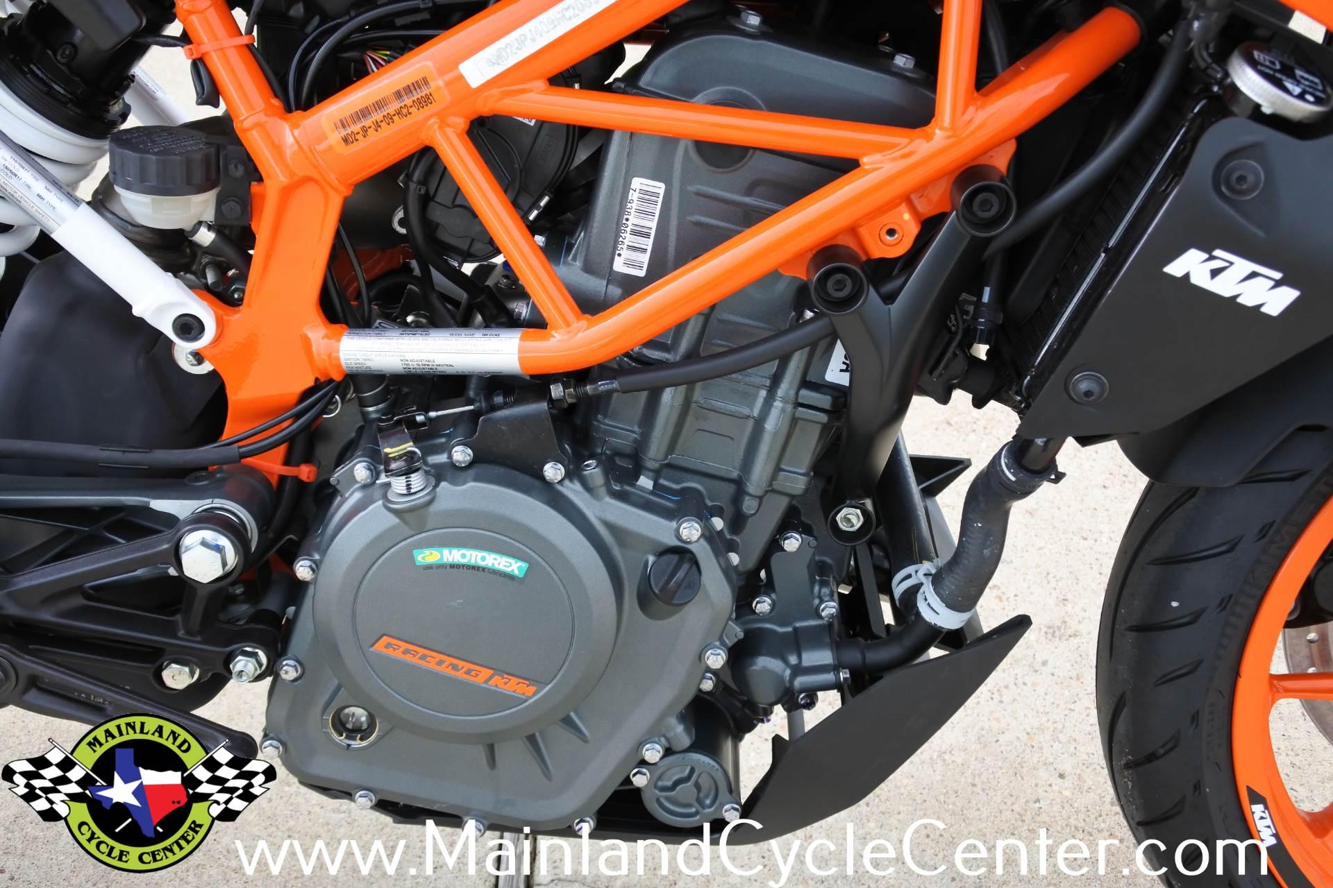 2018 KTM 390 Duke 10