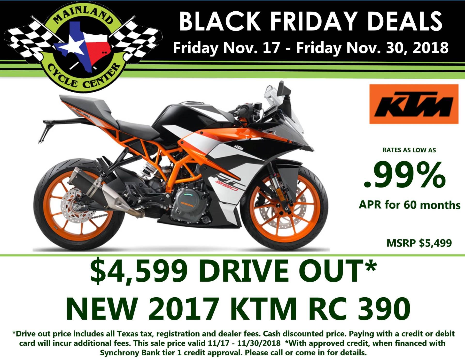 2017 KTM RC 390 for sale 3751
