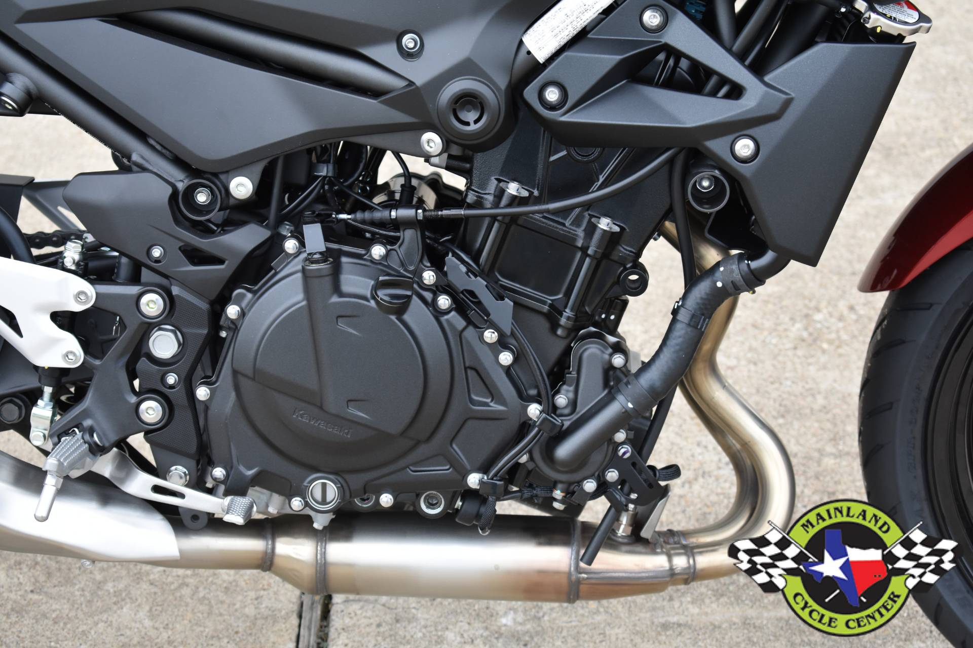 2021 Kawasaki Z400 ABS in La Marque, Texas - Photo 8