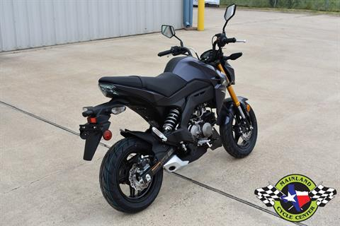2020 Kawasaki Z125 Pro in La Marque, Texas - Photo 4