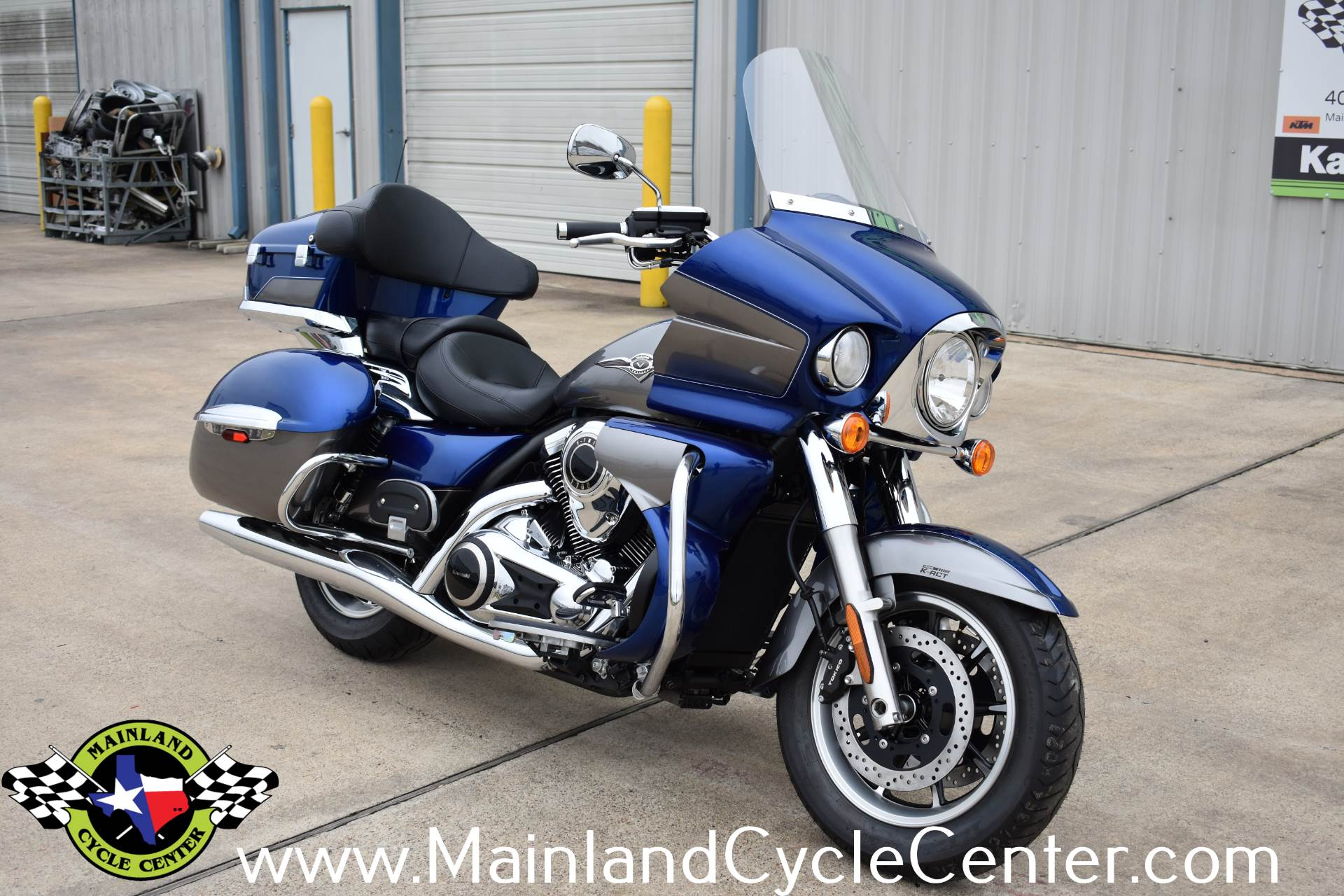 2019 Kawasaki Vulcan 1700 Voyager ABS in La Marque, Texas - Photo 1