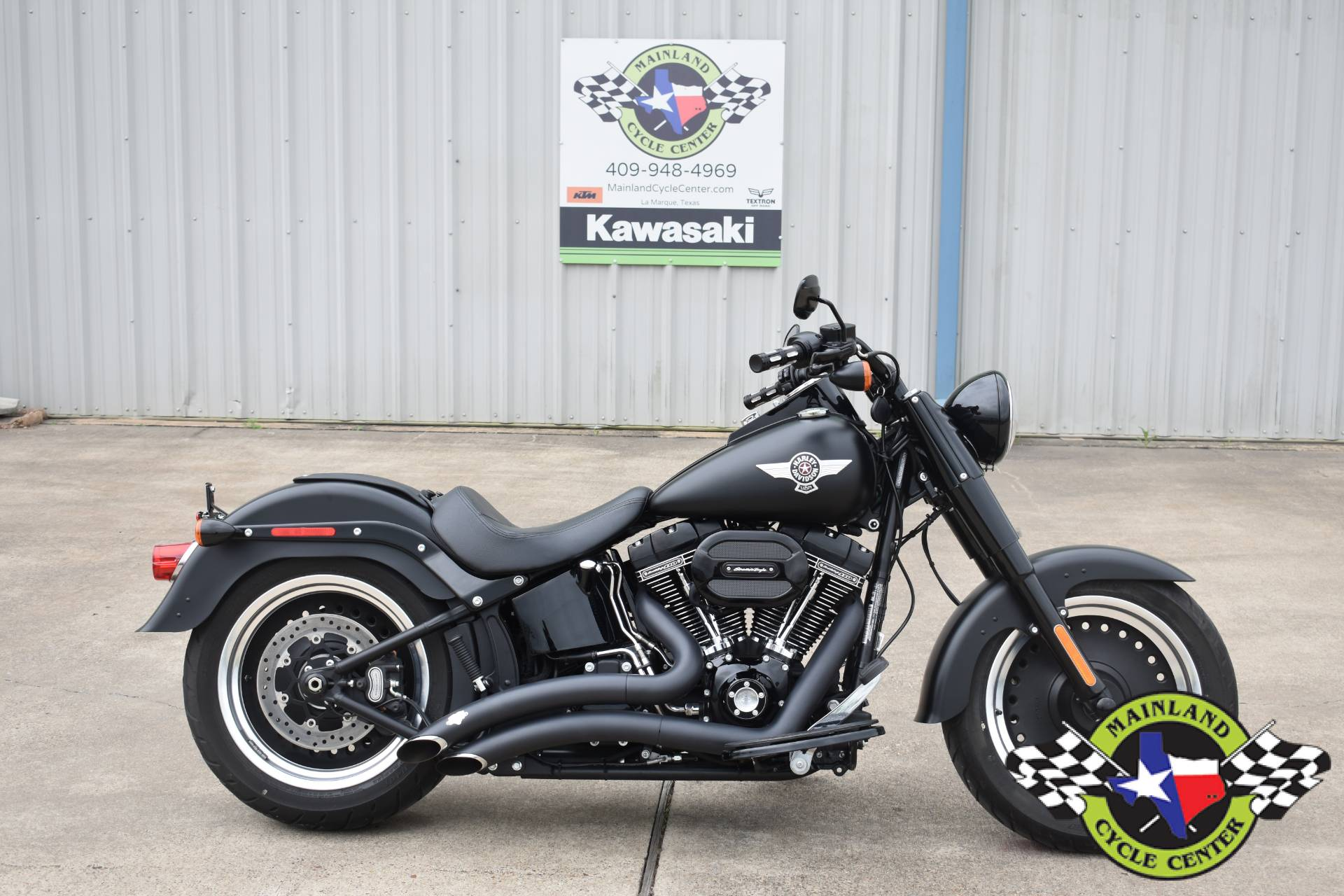 2017 Harley-Davidson Fat Boy® S in La Marque, Texas - Photo 1