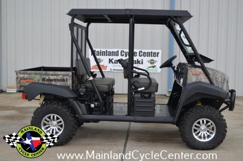 2016 Kawasaki Mule 4010 Trans4x4 Camo in La Marque, Texas - Photo 3