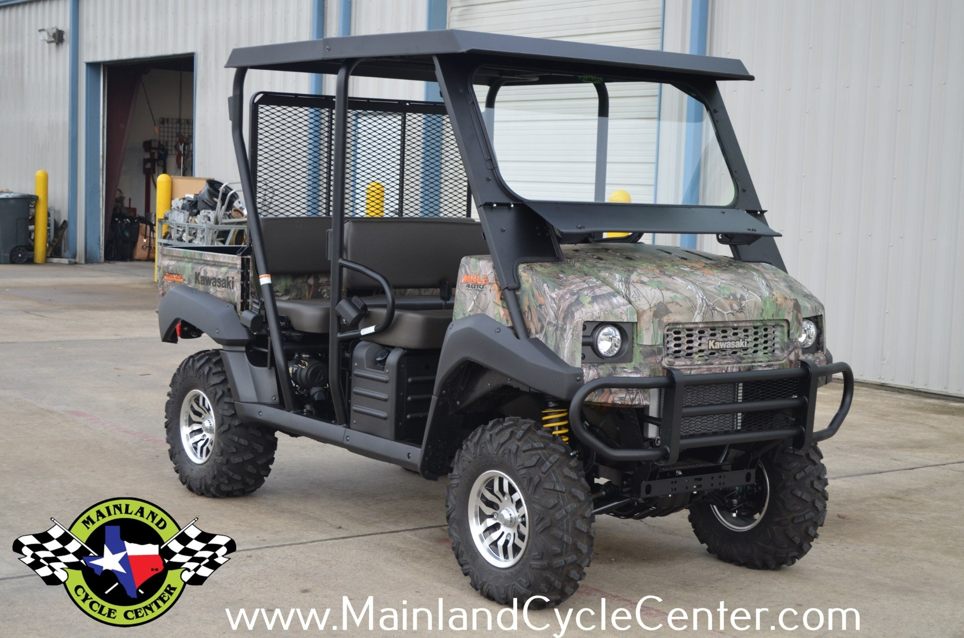 2016 Kawasaki Mule 4010 Trans4x4 Camo in La Marque, Texas - Photo 2