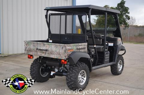 2016 Kawasaki Mule 4010 Trans4x4 Camo in La Marque, Texas - Photo 4