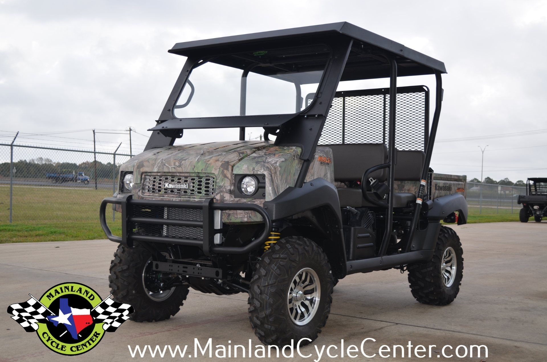 2016 Kawasaki Mule 4010 Trans4x4 Camo in La Marque, Texas - Photo 6