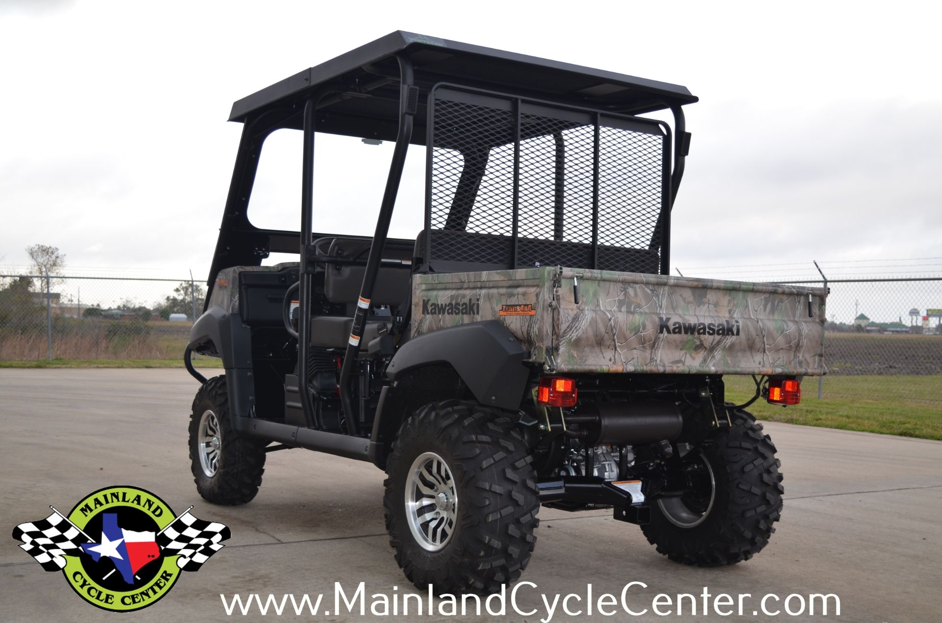2016 Kawasaki Mule 4010 Trans4x4 Camo in La Marque, Texas - Photo 7