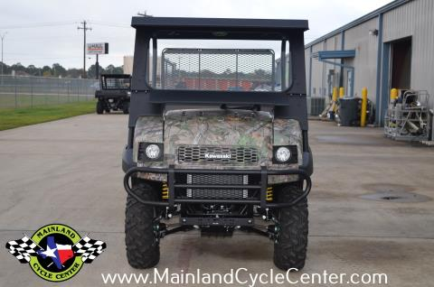2016 Kawasaki Mule 4010 Trans4x4 Camo in La Marque, Texas - Photo 9