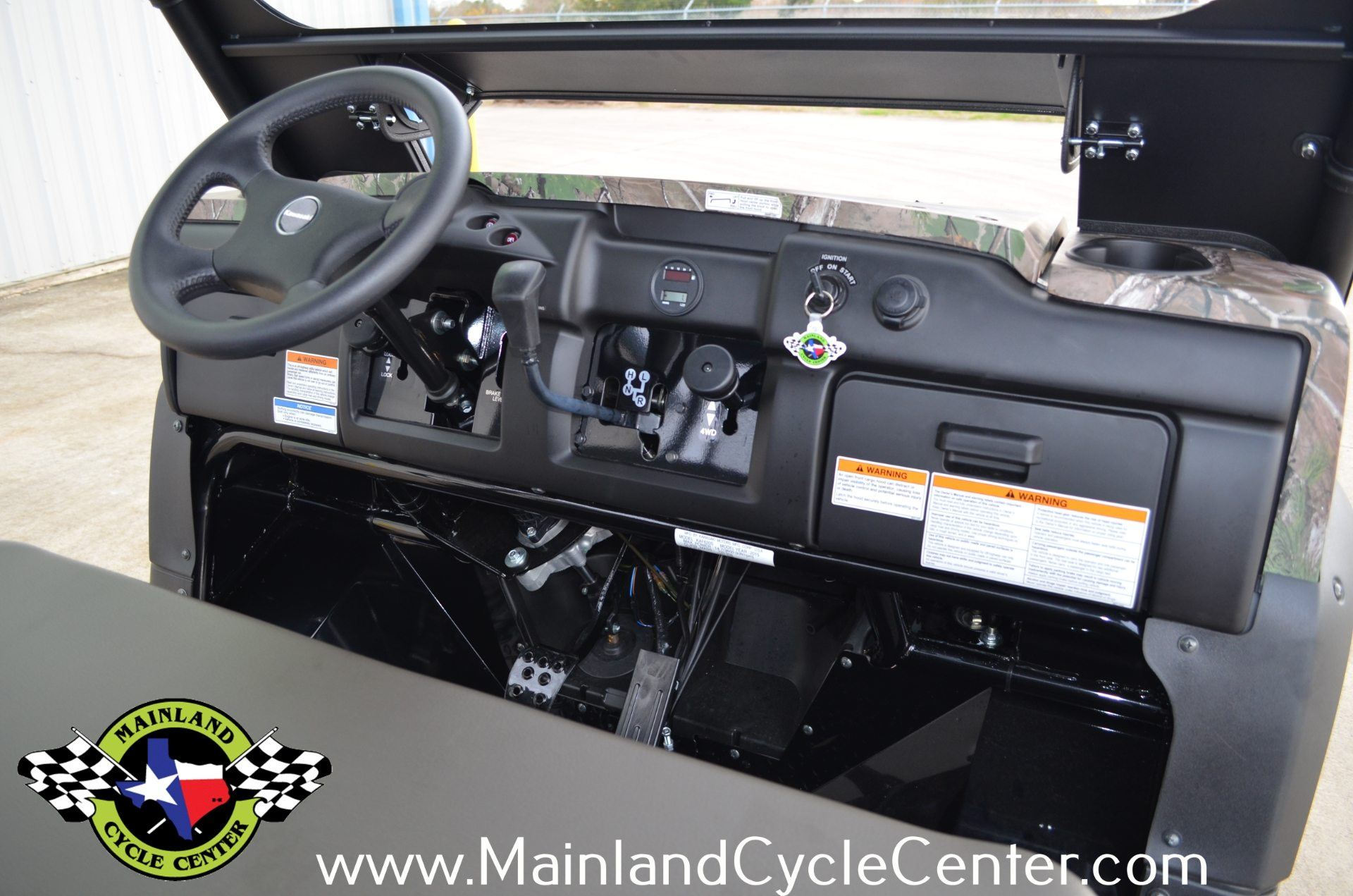 2016 Kawasaki Mule 4010 Trans4x4 Camo in La Marque, Texas - Photo 11